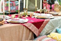 Morocco / Moroccan inspired decor and food