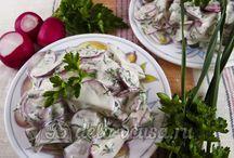 Рецепты салатов / Рецепты вкусных и полезных салатов с детальными пошаговыми фотографиями. Получится у каждого! #салат #рецепты #кулинария