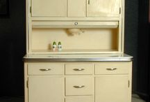 Old cabinets... Hoosier / Love these!!!!