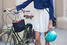 Fashion Inspirations | Ladies / On and off the bicycle