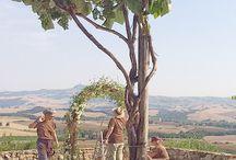 7 July 2015 / K & R Romantic Wedding in Tuscany  / by La Rosa Canina FIRENZE