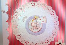 Christmas handmade cards by me / My Christmas designs and makes.