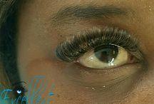 Excellent Eye colour lashes