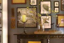 frame wall / by Anne Robinson