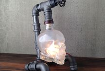 Industrial/Steampunk Lamps