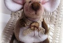 Hermoso Raton de Fieltro