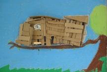 Lijn 3: thema 11Een hut bouwen