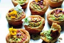 Savory Tarts / Our selection of yummy savory tarts!