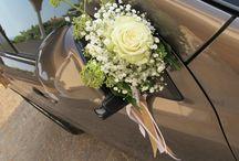 allestimento auto nozze