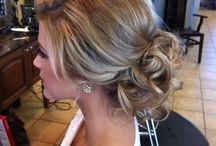 prom hair for sar / by Melissa Cain