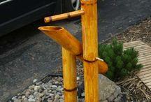 Faux bamboo PVC
