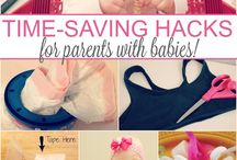 Baby hacks and ideas / by Michelle Todd