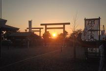 Sunset / 龍神総宮社の夕日です。  http://www.ryujinsogusha.or.jp
