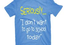 NGNLC:Seriously:Kids / Young and old most definitely can relate to this t-shirt. Although school is essential in life, it's not always the most enjoyable place to attend.