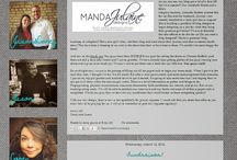 {Manda Julaine Designs} / www.mandajulainedesigns.com Custom Blog, Web & Branding Design