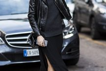 Paint it Black / All black outfit inspiration.