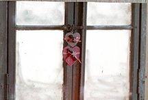okna a látková dekorace