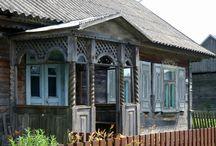 tabGanek / old wooden porches