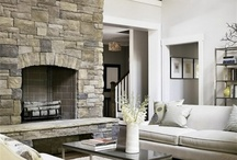 living with fireplaces