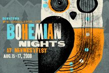night events poster