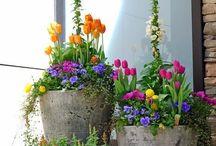 Blumendeko / Hier findet ihr eine schöne Auswahl an Ideen für die Blumendeko.