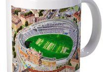 Sports Stadia Art Mugs / Quality Stadium Artwork on a Bone China Mug...avaialble online @ www.sportsstadiaart.com