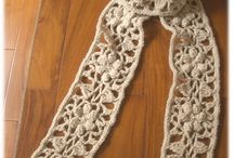 Crochet Scarfs and Cowls