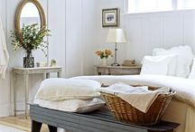 Guest Room Ideas / Here are some ideas on what to do to spice up the guest room a little bit.