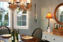 Dining Room / #diningroom / by Karen Tucci | Karen At Home