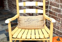 Rocking chairs / by Meredith Loftis
