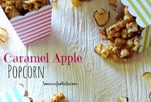 Recipes - Popcorn, Cereal Snacks, Fudge and Chocolate Bark / Popcorn, fudge, bark and cereal snack recipes