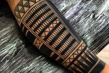 Blackwork tatuaje