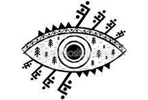 Archaic Eye Symbol