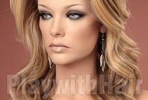 Our Amazing Products / Some of the brilliant and glamorous styles of wigs and hair products and styles that we stock!