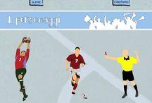 Soccer =  Calcio = Foot-ball