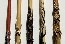 Wands and Staffs