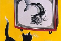 Vintage televisions & radio`s