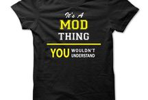 Mod T-shirts / T-shirts for the discerning Mod!