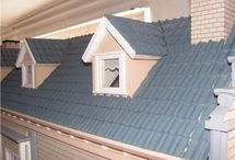 Poppenhuis dakbedekking