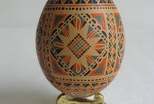 Pysanka / Egg symbol life  / by Victoria Radochyna
