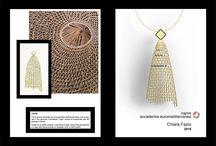 """Sicilia Oro, aprile 2016 / Progetti realizzati dai nostri studenti del Dipartimento di Jewelry Design per la fiera dedicata al gioiello: """"Sicilia Oro"""""""