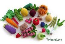 owocki szydełkowe