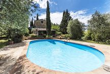 Podere Cinigiano (rif. 3933) / This Podere with his guest house is located in one of the most scenic areas of southern Tuscany. The peace and the view to the hills with their vineyards and olive groves, is fascinating.