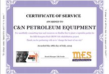 MES Kempton Park Vegetable Garden / C&N Petroleum Equipment assisted MES Homeless Shelter Kempton Park with planting a vegetable garden for #MadibaDay 2015