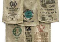 Burlap Coffee Bag ideas / Fun things to make from coffee bags