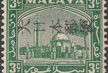 Malaya - Japanese Occupation Stamps
