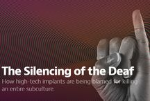 Brilliant Deaf Articles / Get inspired from deaf writers or deaf related articles....