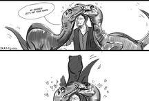 dinosaurs grrrrr