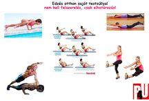 Saját testsúllyal edzés otthon / saját testsúllyal végezhető gyakorlatok, edzés otthon