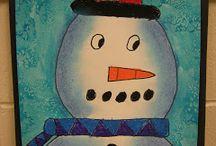 Lumiukko lähikuva